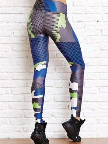 CAJUBRASIL Leggings 8160 Military Camo Sexy Leggings