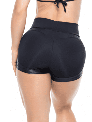 BOMBSHELL BRAZIL Shorts APPLE BOOTY Black -Sexy Shorts