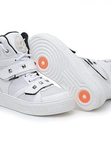 MVP Hard Skull 70107 White Workout Sneakers