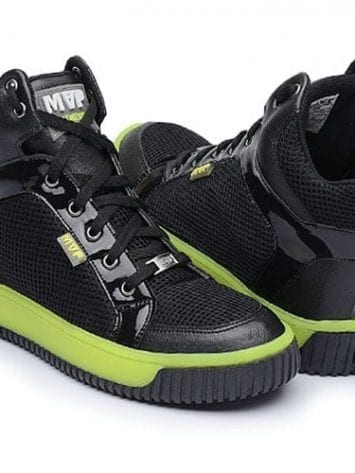 MVP Fitness Leg New 70114 Black Yellow Workout Sneakers
