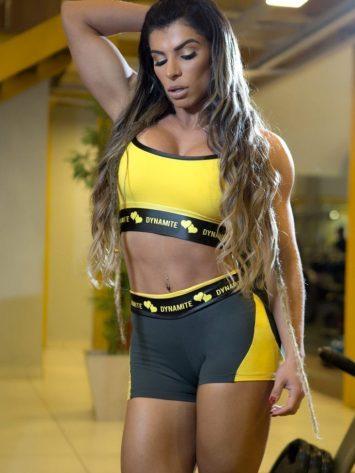 DYNAMITE BRAZIL Shorts SH2094 APPLE BOOTY Splendid-Sexy Shorts