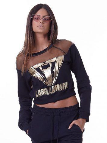 abellaMafia Dark Metal Long Sleeve Blouse Top – MTP16147