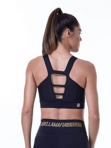 LabellaMafia Sports Bra Fineluxe Black – TCL33035