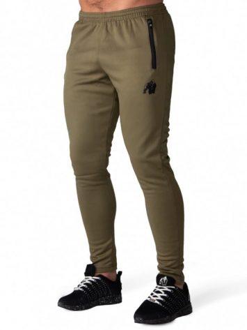 Gorilla Wear Ballinger Track Pants – Army Green