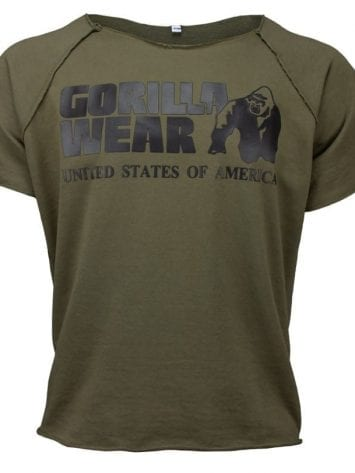 Gorilla Wear Classic Work Out Top – army