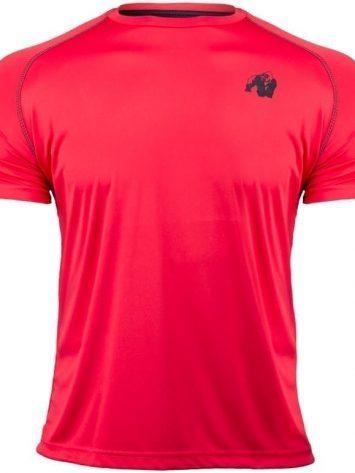 Gorilla Wear Performance T-Shirt Black/Red