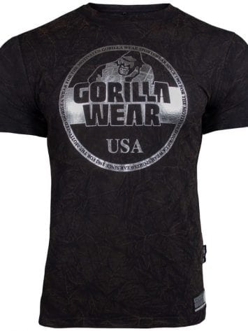 Gorilla Wear Rocklin T-Shirt – black