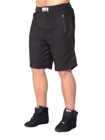Gorilla Wear Augustine Old School Shorts – Black