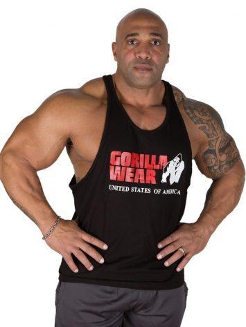 Gorilla Wear Classic Tank Top – black