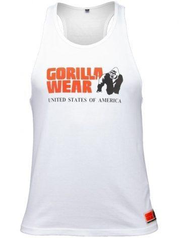 Gorilla Wear Classic Tank Top – White