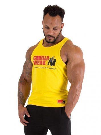 Gorilla Wear Classic Tank Top – Yellow