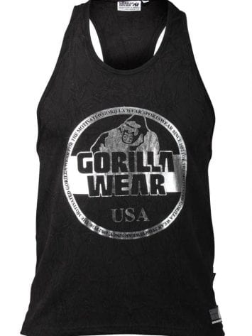 Gorilla Wear Mill Valley Tank Top – Black