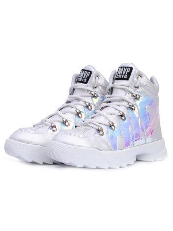 MVP Shark Fit Sneakers -3D White
