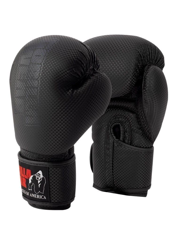 Gorilla Wear Montello Boxing Gloves – Black