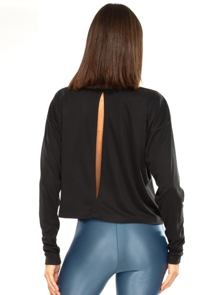 Koral Storm Marlo Long Sleeve Top - Black