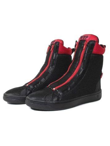MVP Fitness Boot Flex Sneakers – Black Red