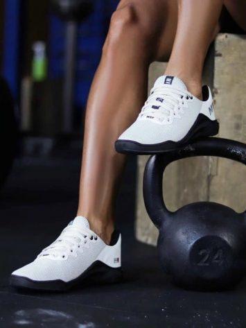 MVP Fitness Cross Training Shoes- Cream White