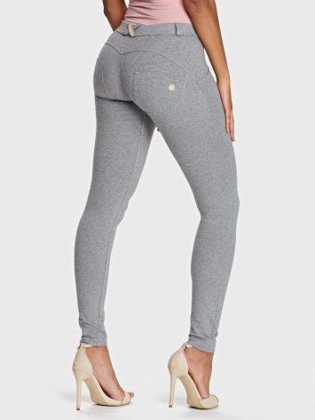 Freddy WR.UP® Fashion-Mid Rise – Super Skinny Full Length – Melange Grey