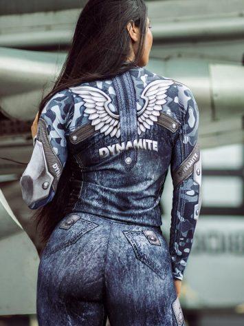 DYNAMITE BRAZIL Jacket – Guardian Ice – Blue Camo