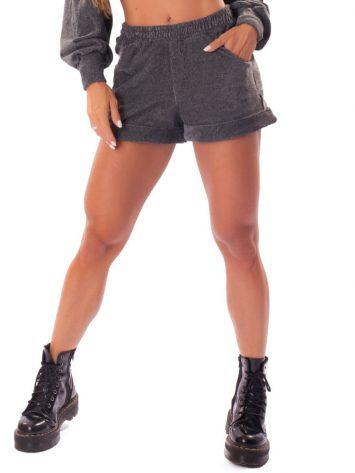 Let's Gym Fitness Short Elegantly Shorts – Dark Melange