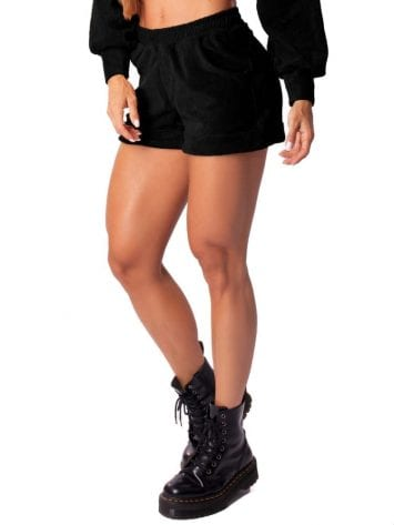 CLet's Gym Fitness Short Elegantly Shorts – Black