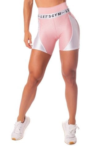 Let's Gym Fitness Short New Wonders Shorts – Rose