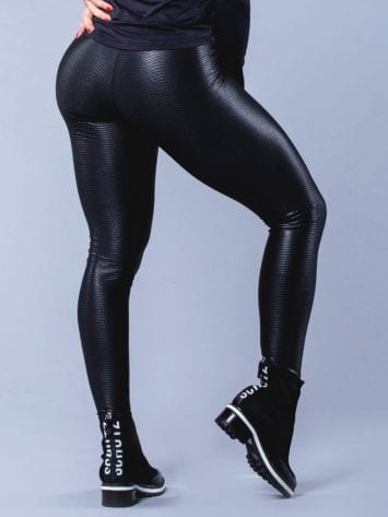 Oxyfit Activewear Leggings Curl – Black
