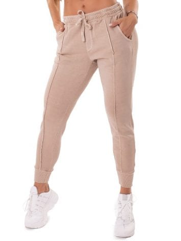 Let's Gym Fitness Jogger Lines Leggings – Nude