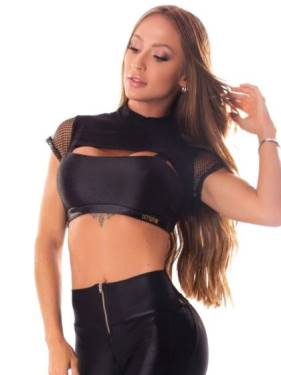 Mesh Panel Cutouts Tops & Bottoms - BEST FIT BY BRAZIL - USA