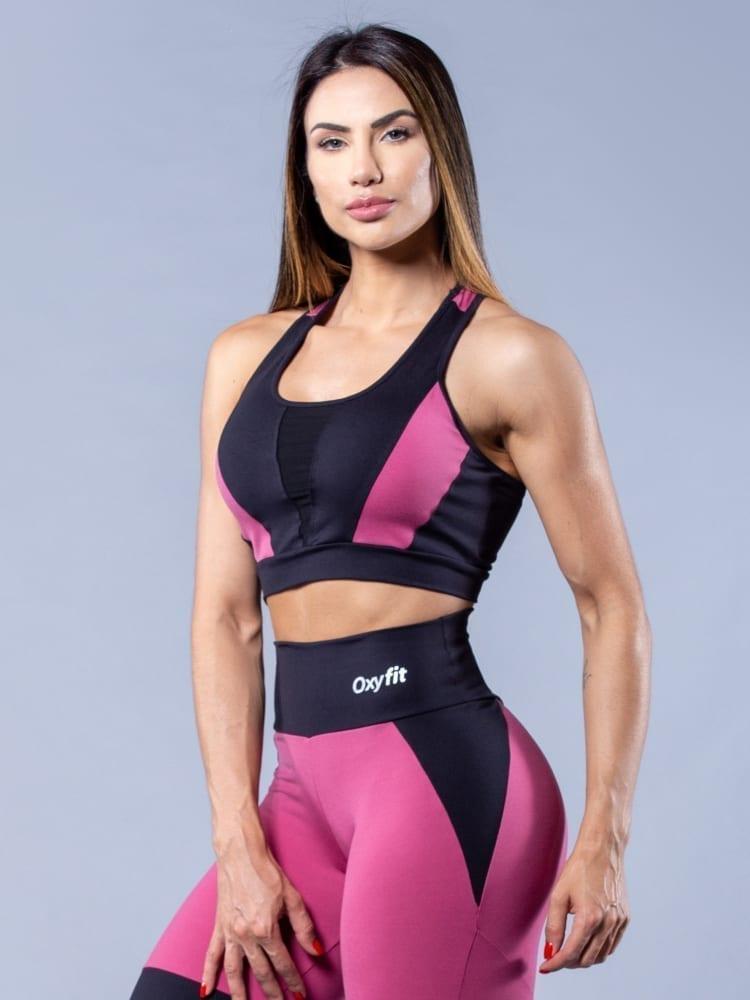 Oxyfit Activewear Control Leggings & Sports Bra - USA