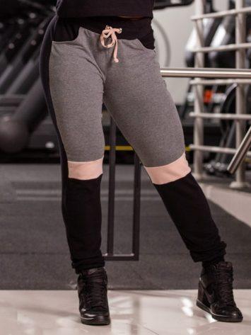 Oxyfit Activewear Leggings Comfort – Black/Grey/Nude