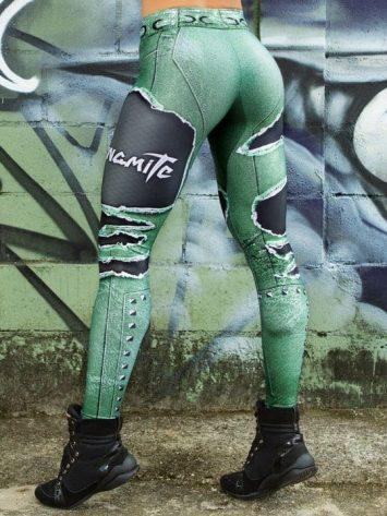 DYNAMITE BRAZIL Leggings Larimar Placebo – Emerald