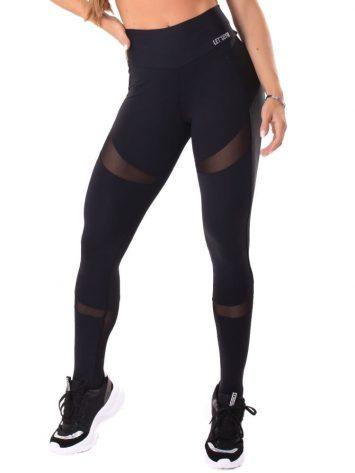 Let's Gym Fitness Delicate Leggings – Black