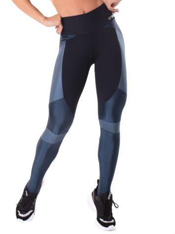 Let's Gym Fitness Magical Leggings – Black/Blue