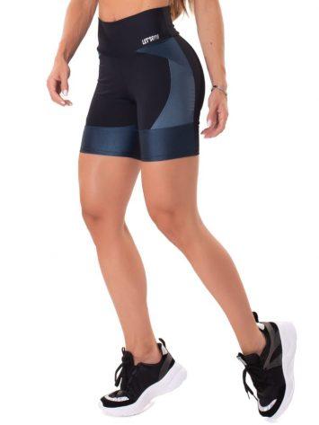 Let's Gym Fitness Magical Shorts – Black/Blue