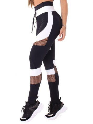 Let's Gym Fitness Intense Woman Leggings – Black