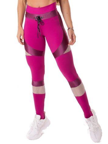 Let's Gym Fitness Intense Woman Leggings – Pink