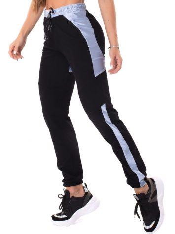 Let's Gym Fitness Sweet Jogger Pants – Black/Blue