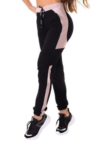 Let's Gym Fitness Sweet Jogger Pants – Black/Rose