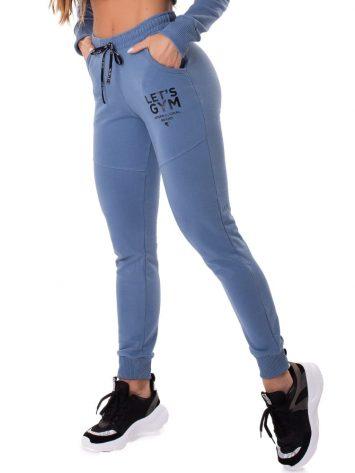 Let's Gym Fitness International Jogger Pants – Blue